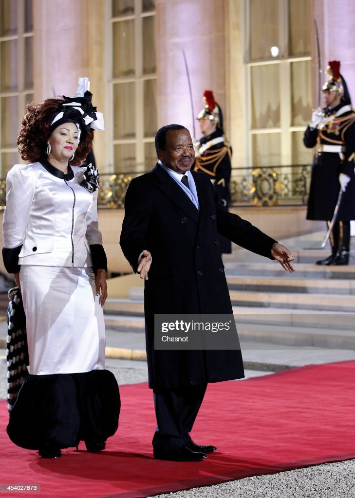 State Dinner At Elysee Summit For Peace And Safety In Africa