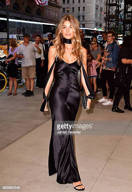 Cami Morrone arrives to the The Daily Front Row's 4th Annual Fashion Media Awards at Park Hyatt New York on September 8 2016 in New York City