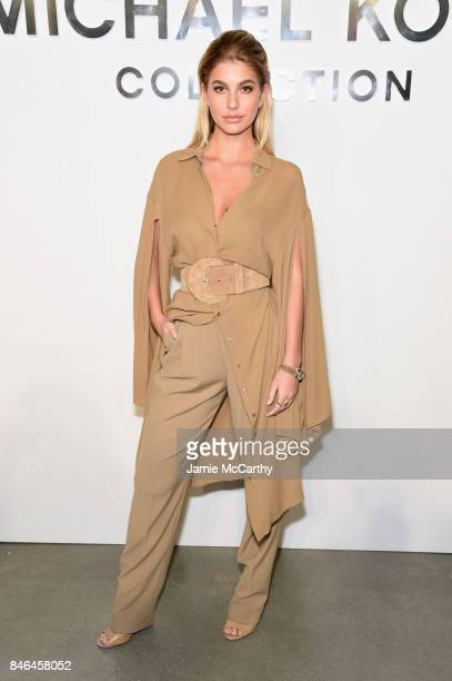 Cami Morrone attends the Michael Kors Collection Spring 2018 Runway Show at Spring Studios on September 13 2017 in New York City