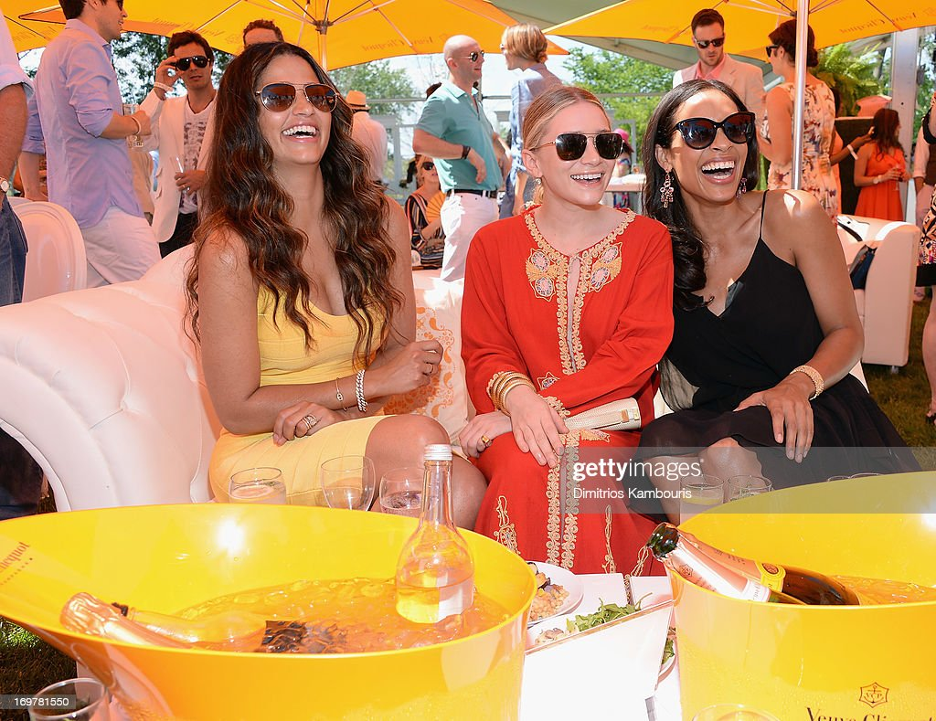 <a gi-track='captionPersonalityLinkClicked' href=/galleries/search?phrase=Camila+Alves&family=editorial&specificpeople=4501431 ng-click='$event.stopPropagation()'>Camila Alves</a>, Ashley Olson and <a gi-track='captionPersonalityLinkClicked' href=/galleries/search?phrase=Rosario+Dawson&family=editorial&specificpeople=201472 ng-click='$event.stopPropagation()'>Rosario Dawson</a> attends the VIP Marquee during the sixth annual Veuve Clicquot Polo Classic on June 1, 2013 in Jersey City.
