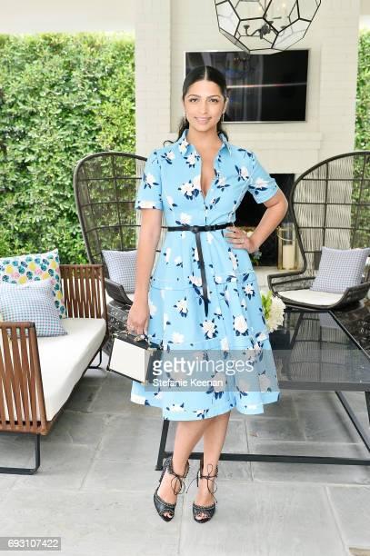 Camila Alves attends NETAPORTER x Draper James Event on June 6 2017 in Beverly Hills California