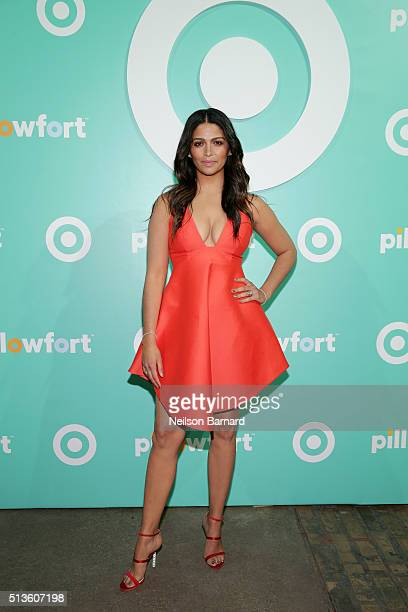 Camila Alves attends Target Pillowfort launch party at Highline Stages on March 3 2016 in New York City