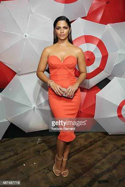 Camila Alves attends TargetStyle in Vogue at Cedar Lake on September 9 2015 in New York City