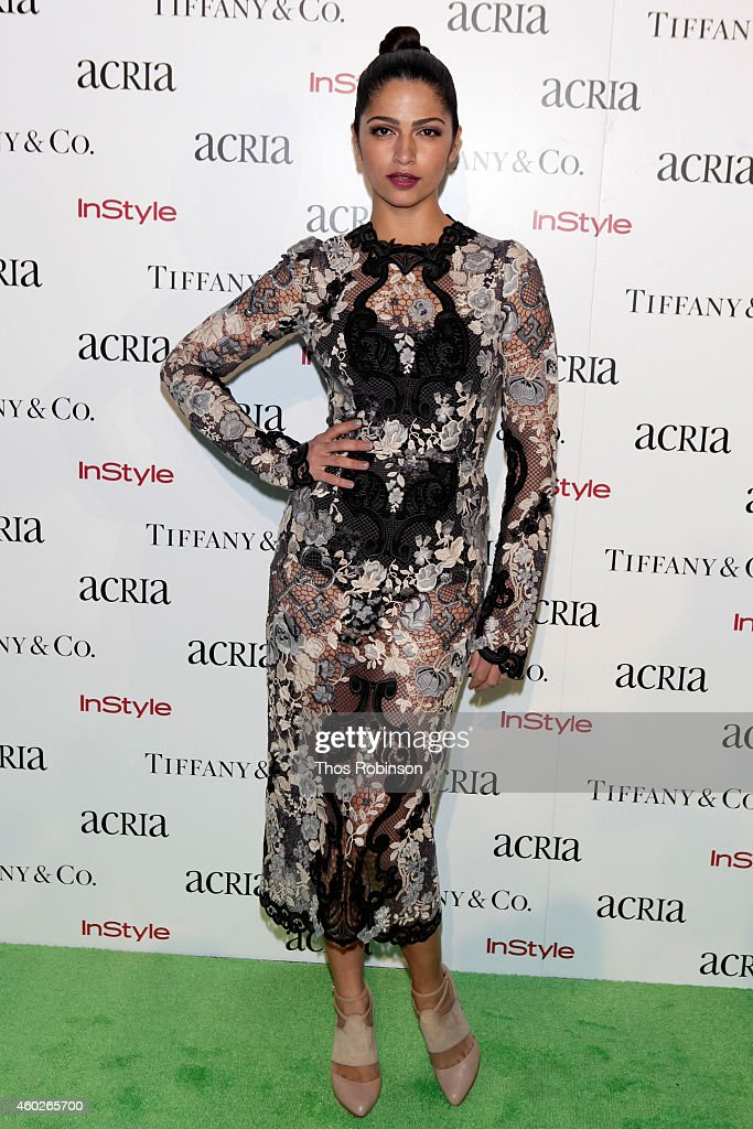 Camila Alves attends the 19th Annual ACRIA Holiday Dinner at Skylight Modern on December 10, 2014 in New York City.