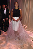 Camila Alves attends the 2015 amfAR New York Gala at Cipriani Wall Street on February 11 2015 in New York City