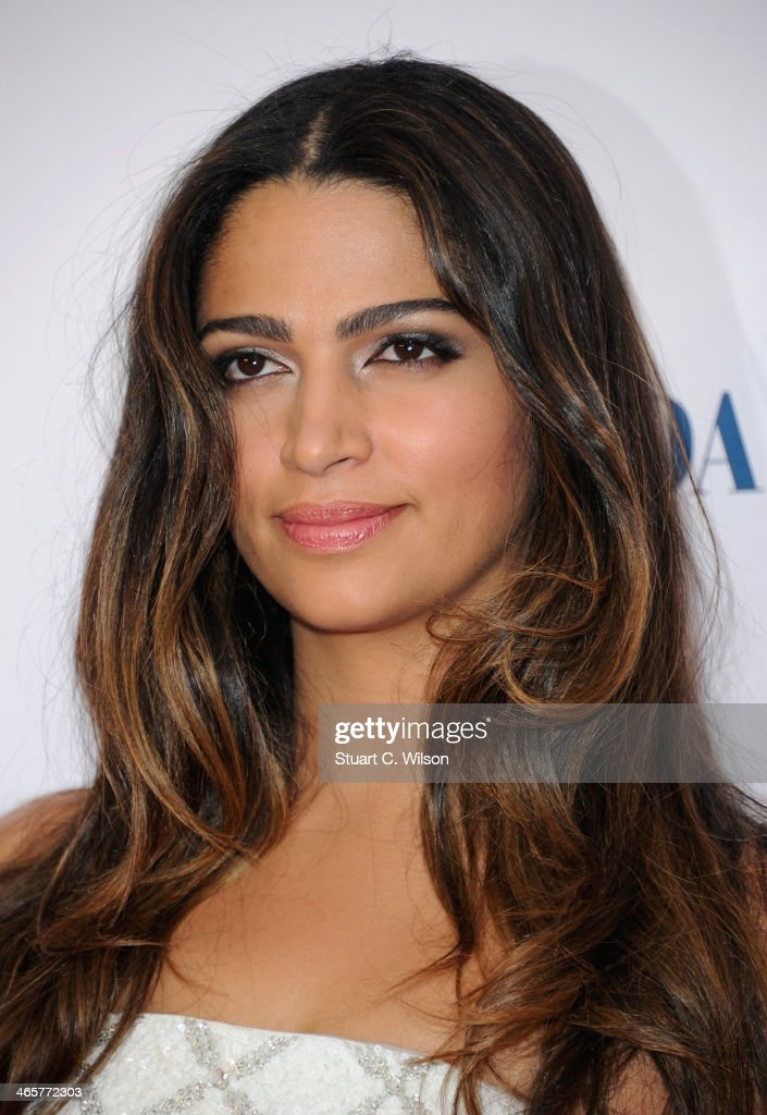 Camila Alves attends the 'Dallas Buyers Club' UK Premiere at the Curzon Mayfair on January 29, 2014 in London, England.