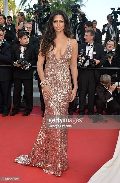 Camila Alves attends 'The Paperboy' Premiere during 65th Annual Cannes Film Festival at Palais des Festivals on May 24 2012 in Cannes France
