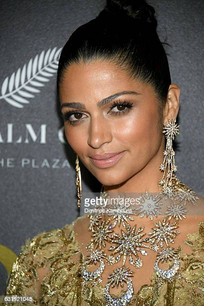 Camila Alves attends The World Premiere of 'Gold' hosted by TWC Dimension with Popular Mechanics The Palm Court Wild Turkey Bourbon at AMC Loews...