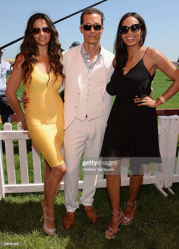 <a gi-track='captionPersonalityLinkClicked' href=/galleries/search?phrase=Camila+Alves&family=editorial&specificpeople=4501431 ng-click='$event.stopPropagation()'>Camila Alves</a>, <a gi-track='captionPersonalityLinkClicked' href=/galleries/search?phrase=Matthew+McConaughey&family=editorial&specificpeople=201663 ng-click='$event.stopPropagation()'>Matthew McConaughey</a> and <a gi-track='captionPersonalityLinkClicked' href=/galleries/search?phrase=Rosario+Dawson&family=editorial&specificpeople=201472 ng-click='$event.stopPropagation()'>Rosario Dawson</a> attend the VIP Marquee during the sixth annual Veuve Clicquot Polo Classic on June 1, 2013 in Jersey City.