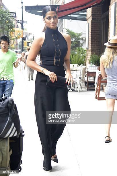 Camila Alves seen at her hotel on September 09 2015 in New York City
