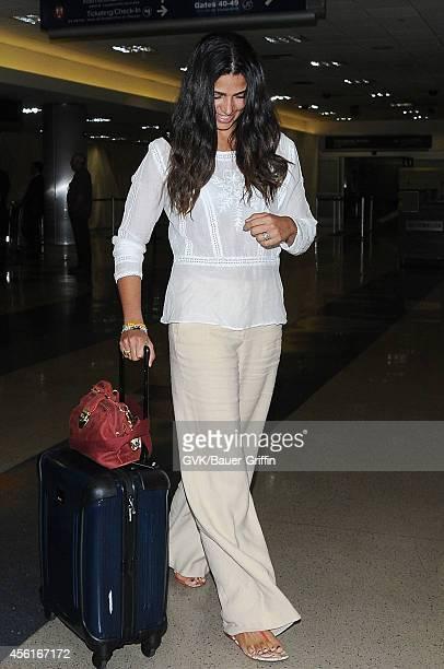 Camila Alves seen at LAX on September 26 2014 in Los Angeles California