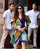 Camila Alves seen on the streets of Manhattan on July 23 2016 in New York City