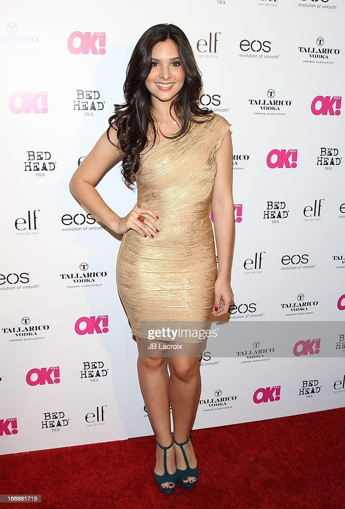 Camila Banus attends the OK! Magazine's 'So Sexy' party at Mondrian Los Angeles on April 17, 2013 in West Hollywood, California.