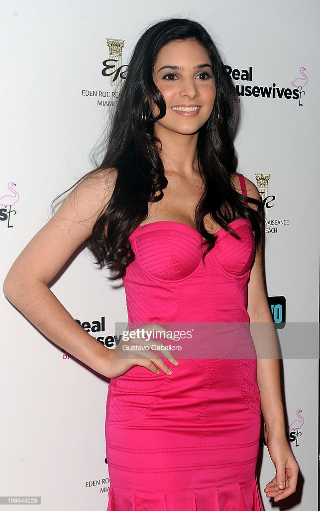 Camila Banus attends The Real Housewives of Miami Premiere Party at Eden Roc, a Renaissance Beach Resort and Spa on February 21, 2011 in Miami Beach, Florida.