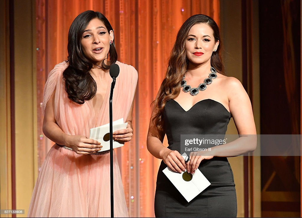 <a gi-track='captionPersonalityLinkClicked' href=/galleries/search?phrase=Camila+Banus&family=editorial&specificpeople=7185451 ng-click='$event.stopPropagation()'>Camila Banus</a>, left, and Teresa Castillo present the Emmy for Outstanding Entertainment Program in Spanish at the 43rd Annual Daytime Emmy Awards at the Westin Bonaventure Hotel on May 1, 2016 in Los Angeles, California.
