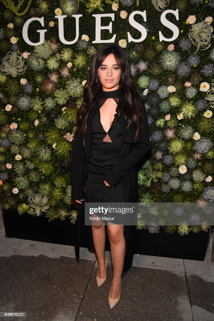 Camila Cabello attends GUESS NYFW Fall Fashion Event at Public Hotel on September 13, 2017 in New York City.