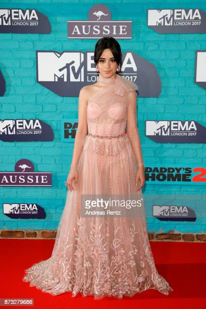 Camila Cabello attends the MTV EMAs 2017 held at The SSE Arena Wembley on November 12 2017 in London England