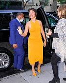 Celebrity Sightings In New York City - July 23, 2021