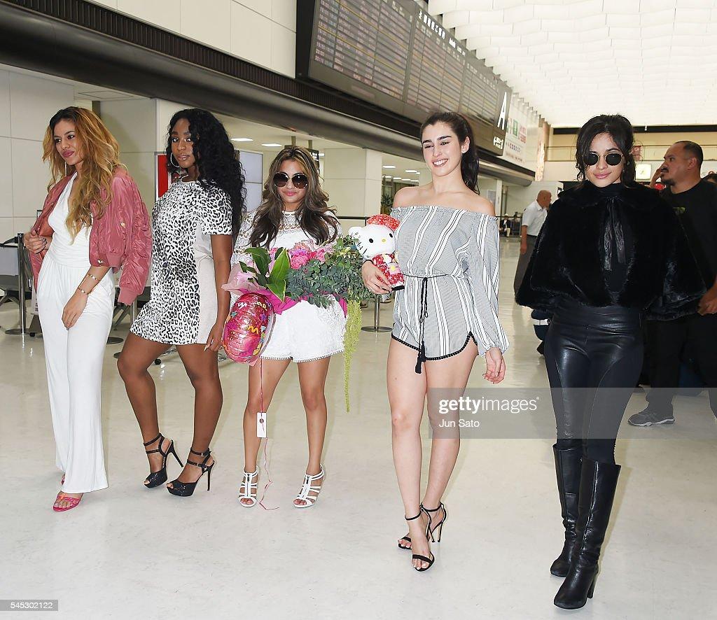 International women s day lauren jauregui fifth harmony camila cabello - Fifth Harmony Arrives In Japan Camila Cabello Lauren Jauregui Ally Brooke Normani Hamilton And Dinah Jane Hansen