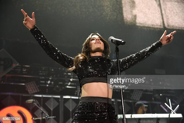 Camila Cabello of Fifth Harmony performs during Power 961's Jingle Ball 2016 at Philips Arena on December 16 2016 in Atlanta Georgia