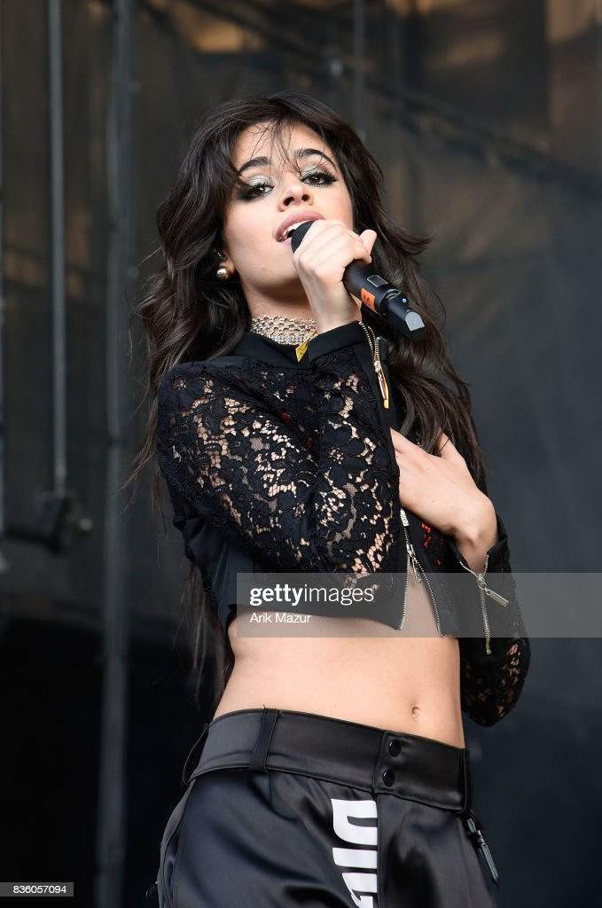Camila Cabello performs at 2017 Billboard HOT 100 Music Festival at Northwell Health at Jones Beach Theater on August 20, 2017 in Wantagh, New York.