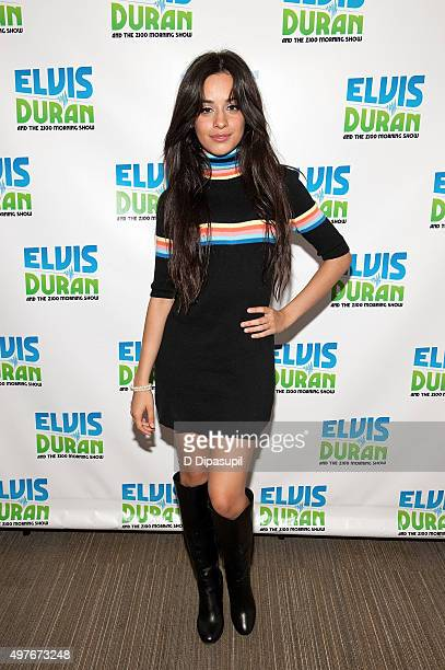Camila Cabello visits 'The Elvis Duran Z100 Morning Show' at Z100 Studio on October 23 2015 in New York City
