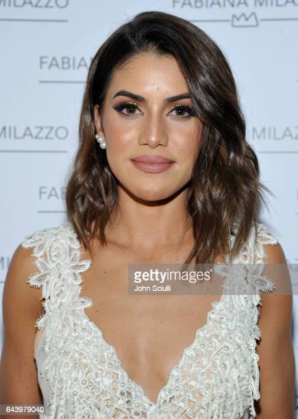 Camila Coelho attends Fabiana Milazzo's Melrose Place Boutique Opening on February 22 2017 in Los Angeles California