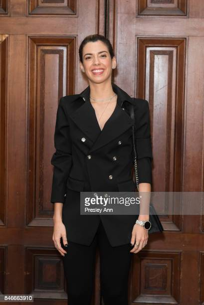 Camila Coutinho attends Marc Jacobs Spring 2018 show red carpet at Park Avenue Armory on September 13 2017 in New York City