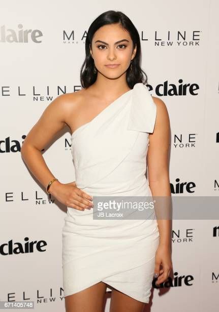 Camila Mendes attends Marie Claire's 'Fresh Faces' celebration with an event sponsored by Maybelline at Doheny Room on April 21 2017 in West...