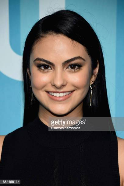 Camila Mendes attends the 2017 CW Upfront on May 18 2017 in New York City