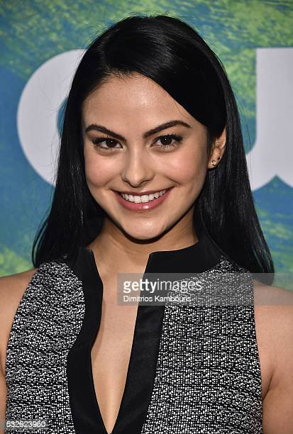 Camila Mendes attends the CW Network's 2016 New York Upfront Presentation at The London Hotel on May 19 2016 in New York City