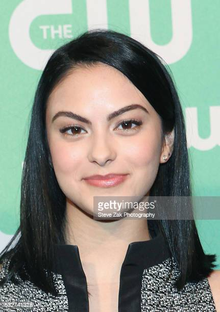 Camila Mendes attends The CW Network's 2016 New York Upfront at The London Hotel on May 19 2016 in New York City