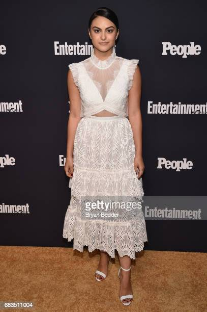 Camila Mendes attends the Entertainment Weekly and PEOPLE Upfronts party presented by Netflix and Terra Chips at Second Floor on May 15 2017 in New...