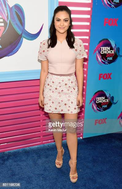 Camila Mendes attends the Teen Choice Awards 2017 at Galen Center on August 13 2017 in Los Angeles California