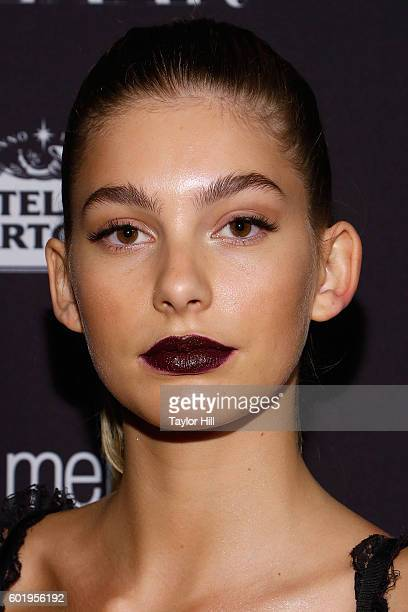 Camila Morrone attends the 2016 Harper ICONS Party at The Plaza Hotel on September 9 2016 in New York City
