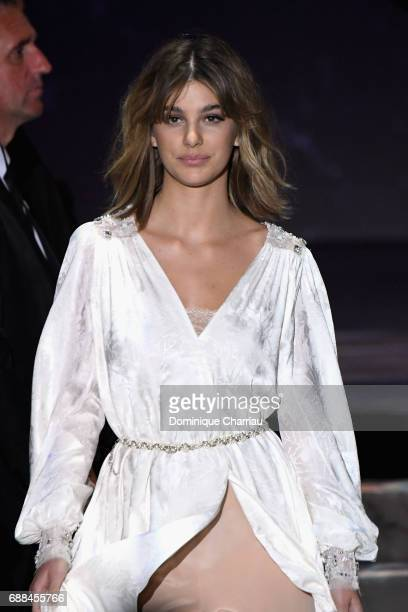Camila Morrone attends the amfAR Gala Cannes 2017 at Hotel du CapEdenRoc on May 25 2017 in Cap d'Antibes France