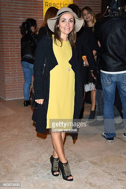 Camila Raznovich attends a photocall for 'Era D'Estate' during the 10th Rome Film Fest at Auditorium Parco Della Musica on October 15 2015 in Rome...