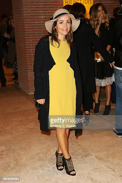 Camila Raznovich attends a photocall for 'Era D'Estate' during the 10th Rome Film Fest on October 15 2015 in Rome Italy