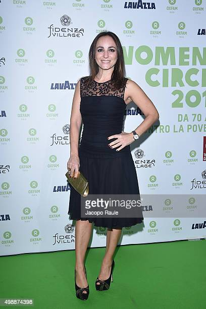 Camila Raznovich attends a photocall for Women's Circle 2015 OXFAM Charity Benefit on November 26 2015 in Milan Italy