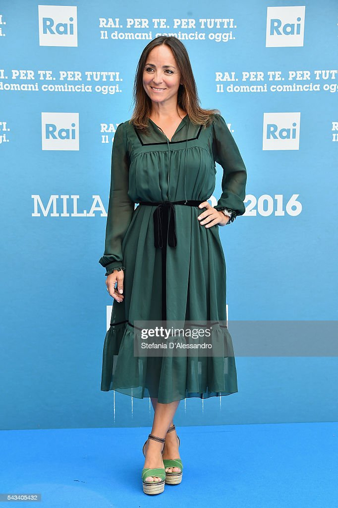 Camila Raznovich attends Rai Show Schedule Presentation In Milan on June 28, 2016 in Milan, Italy.
