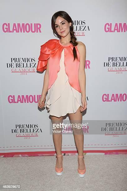 Camila Sodi attends premios de belleza Glamour 2014 at salon Mayita on February 19 2015 in Mexico City Mexico