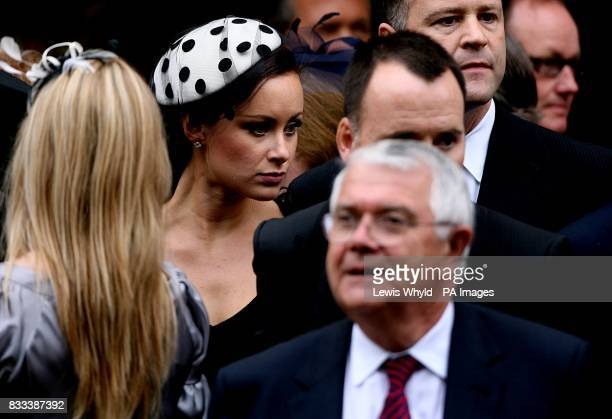 Camilla Al Fayed after the Service of Thanksgiving for the life of Diana Princess of Wales at the Guards' Chapel London PRESS ASSOCIATION Photo...