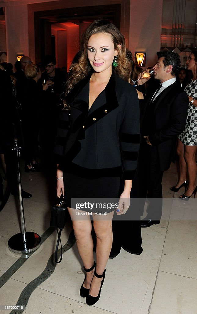 Camilla Al Fayed arrives at the Harper's Bazaar Women of the Year awards at Claridge's Hotel on November 5, 2013 in London, England.
