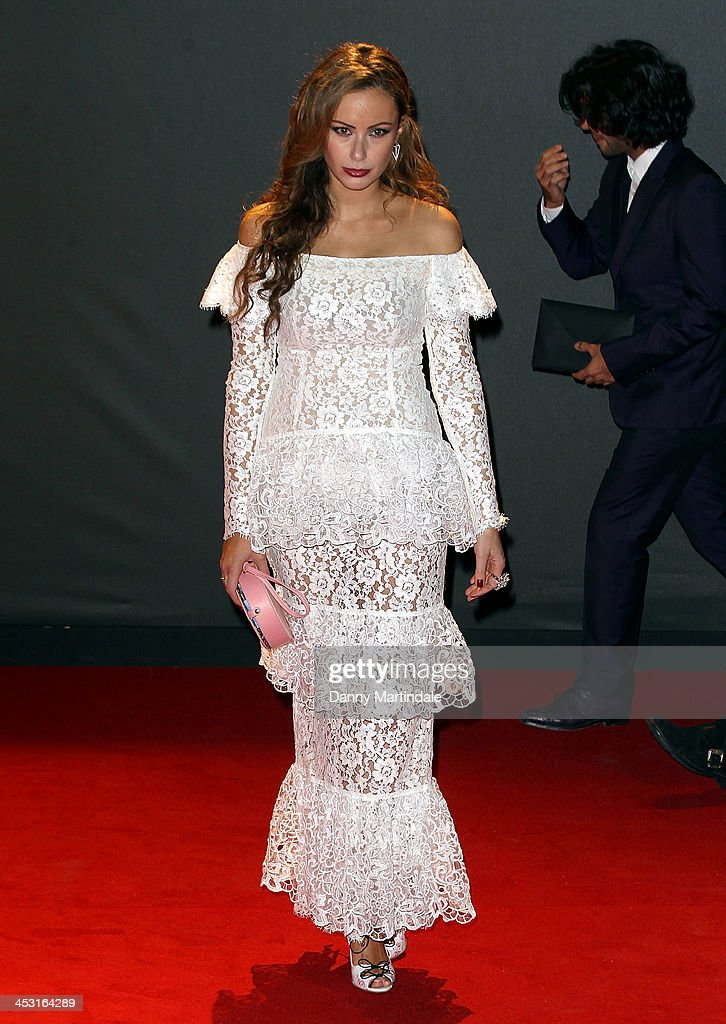 Camilla Al Fayed attends the British Fashion Awards 2013 at London Coliseum on December 2, 2013 in London, England.