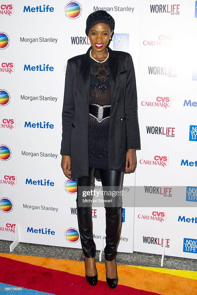 Camilla Barungi attends the 11th Annual Work Life Matters gala at Club 101 on October 24, 2013 in New York City.