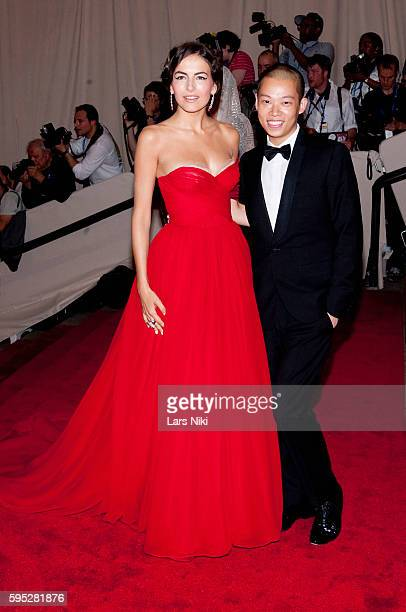 Camilla Belle and Jason Wu attend 'American Woman Fashioning A National Identity' Costume Institute Gala at The Metropolitan Museum of Art in New...