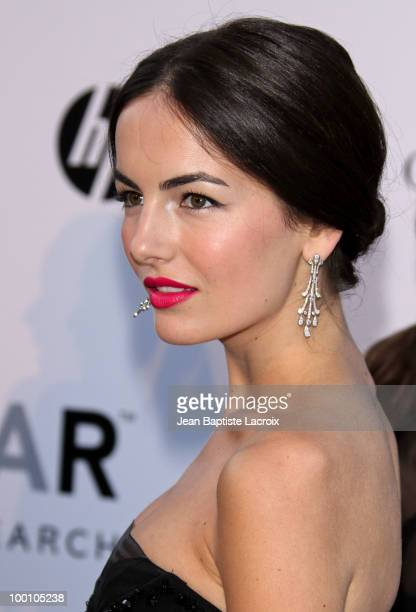 Camilla Belle arrives at amfAR's Cinema Against AIDS 2010 benefit gala at the Hotel du Cap on May 20 2010 in Cannes France