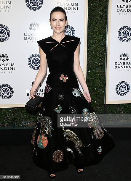 Camilla Belle arrives at The Art of Elysium celebrating the 10th Anniversary held at Red Studios on January 7 2017 in Los Angeles California