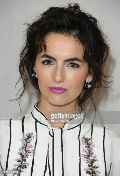 Camilla Belle arrives at the Bottega Veneta Hosts Hammer Museum Gala In The Garden at Hammer Museum on October 14 2017 in Westwood California