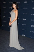 Camilla Belle arrives at the LACMA 2013 Art Film Gala at LACMA on November 2 2013 in Los Angeles California